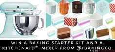 Enter to Win (Canada & USA) iBAKINGco Kit & KitchenAid® Stand Mixer from INTELLIGENT BAKING