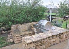 Build A Brick Grill Surround Brick And Stone Grill