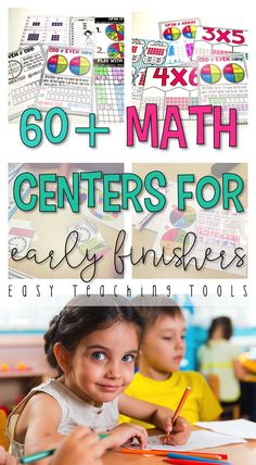 grade Math Centers for the Entire Year Bundle Centers} - Easy Teaching Tools 2nd Grade Teacher, 3rd Grade Classroom, 2nd Grade Math, Kindergarten Classroom, Future Classroom, Second Grade, Math Resources, Math Activities, Morning Activities