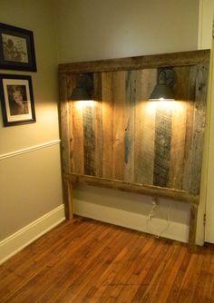 Barn Wood Full Headboard-created to your size