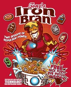 Artists Bamboota and Elliot Fernandez reimagined some of Marvel's finest characters as delicious cereals.   These Cereals Based On Comic Book Characters Are Awesome