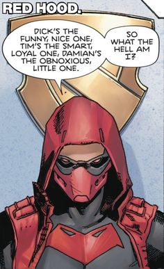 """Red Hood in Heroes in Crisis #9 """"All of Us"""" (2019) - Clay Mann, Colors: Tomeu Morey"""