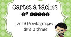 C-à-t groupes dans la phrase1.pdf Classroom Resources, Classroom Ideas, Back To School, High School, Groupes, Teacher Organization, France, Printable, Teaching