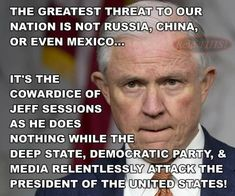 Oh look, another pos. That needs to be fired Democratic Party, Jeff Sessions, Political Quotes, Pray For Us, Conservative Politics, Truth Hurts, It Goes On, Presidents
