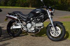 #Ducatti #Bike #Black