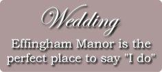 Weddings at Effingham Manor Winery