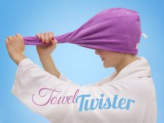 Hjem & Hage - Towel Twister , Vri rundt, og la håret tørke!