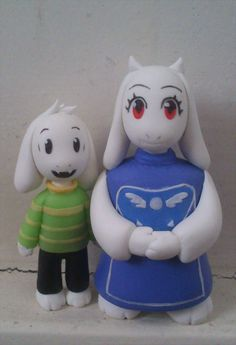 From Undertale, little commission thanks again for all the comments in the previous one guys ^^ Toriel and Asriel Undertale Plush, Toriel Undertale, Toby Fox, Kawaii, Best Games, Plushies, Nerdy, Things I Want, Geek Stuff