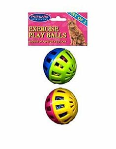 2 pack Cat Play Balls Case Pack 48 - 237889 *** Learn more by visiting the image link. (This is an affiliate link and I receive a commission for the sales)