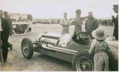 Charlie Dean's Maybach: Nuriootpa, South Australia, AGP 1950 (State Library of SA)...