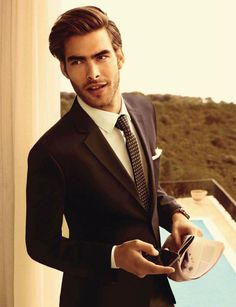 Jon Kortajarena by Sergi Pons for GQ Germany