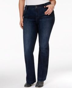 Lucky Brand Plus Size Emma Flare Jeans