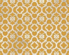 Moroccan Wall Stencil Small Chez Ali Stencil as Featured in Better Homes and Gardens