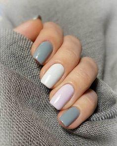 40 Easy Nail Art Designs for Beginners - Simple Nail Art Design Gorgeous Nails, Love Nails, Fun Nails, Simple Nail Designs, Nail Art Designs, Nails Design, Salon Design, Uñas Fashion, Nagel Blog
