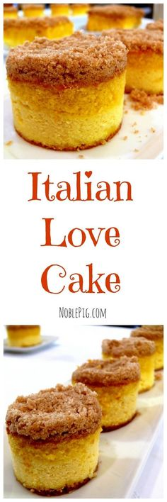 Italian Love Cake, perfect for Valentine's Day from NoblePig.com.