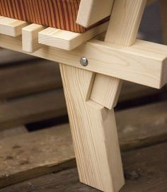 goteborg_ + Charlie + Styrbjörn + Nilsson + and + Sami + Kallio + × - Diy Möbel Woodworking Joints, Woodworking Plans, Woodworking Projects, Diy Sofa, Diy Wood Projects, Wood Crafts, Chair Design Wooden, Wood Joints, Joinery