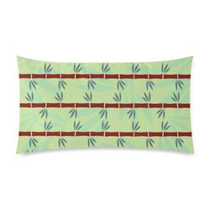 Bamboo Custom Rectangle Pillow Case (one side) Cushions, Pillows, Pillow Cases, Bamboo, Throw Pillows, Cushion, Cushion, Throw Pillow