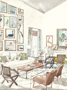 STYLEBEAT: SISTER PARISH ON DECORATING: INCLUDES WATERCOLOR INTERIORS AND TALKS DESIGN WITH TODAY'S BEST