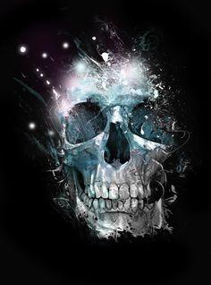 black skull pattern - Google Search