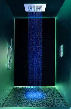 Lumières intérieur douche