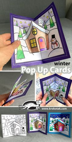 Christmas Arts And Crafts, Winter Crafts For Kids, Christmas Activities, Kids Christmas, Holiday Crafts, Art For Kids, Activities For Kids, Kindergarten Crafts, Preschool Crafts