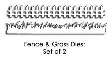 Fence & Grass Die Set My Wish List, Fence, Grass, Stamps, Exercise, Math Equations, Seals, Ejercicio, Grasses