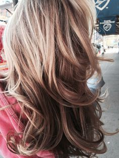 Hair color, Highlights, Balayage, lowlights on gorgeous blonde hair with amazing hairstyling