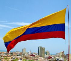 Colombian Flag - Bandera Colombiana I'm Colombian! List Of Countries, Largest Countries, Countries Of The World, Colombian People, Colombian Flag, Colombia Map, Colombia South America, Wonderful Places, Beautiful Places