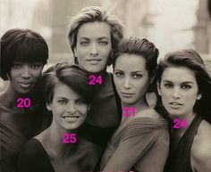 The fact that they weren't teenagers.   51 Reasons Why Supermodels Were Better In The '90s