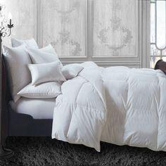 Maison Condelle Lauren Taylor All Season Down-Blend Duvet In White - Beyond the Rack