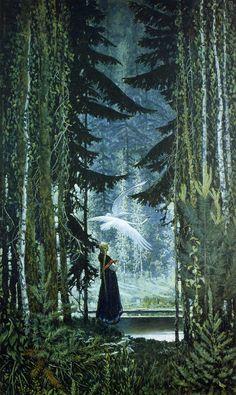 Swans by Konstantin Vasilyev, 1967 …