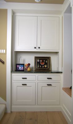 Arts and Crafts Style Built-In Cabinets