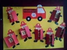 fireman-bulletin-board – Crafts and Worksheets for Preschool,Toddler and Kindergarten Fireman Crafts, Firefighter Crafts, Fireman Party, Activities For Kids, Crafts For Kids, Community Helpers Preschool, Social Studies Classroom, Class Decoration, Teaching Aids