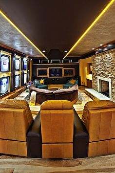 Inspirational Home Theater Design Ideas and Photos - Zillow Digs