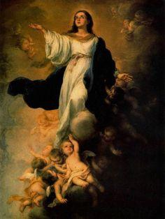 Asunción de la Virgen María http://oracionescatolicasymas.blogspot.mx/2013/08/asuncion-de-la-virgen-maria.html
