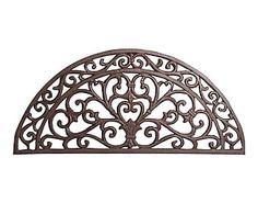 Felpudo de hierro semi - marrón