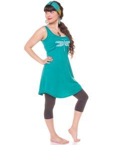 Born Free Dragonfly Organic Mini Dress