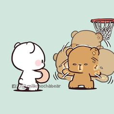 Cute Love Pictures, Cute Cartoon Pictures, Cute Love Cartoons, Cute Love Gif, Cartoon Profile Pics, Cute Bear Drawings, Cute Couple Drawings, Cute Kawaii Drawings, Kawaii Love