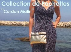 "Collection de Pochettes ""Cordon Malin"". ★ www.LesCabasChics.com"