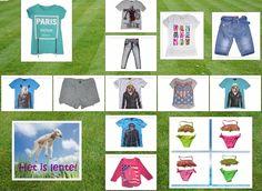 De nieuwe collectie staat online ! https: //www.kinderkledingnodig.nl/new-products  Het mooie weer komt er aan, dus wij hebben volop leuke  en betaalbare kinderkleding voor de tijd van het jaar. De Ibiza-bikini's zijn weer verkrijgbaar in 4 kleuren ! Nu voor de vaste lage prijs € 14,99 p/st. Let op: Ze vallen klein uit, dus bestel groter !  Wij wensen iedereen een hele zonnige week