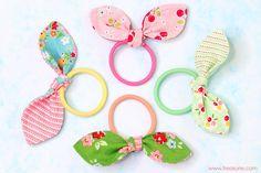 Hairband bows