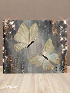 Plaster Art, Sharpie Art, Butterfly Painting, Diy Canvas Art, Acrylic Art, Art Pictures, Watercolor Art, Art Projects, Art Drawings