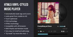 HTML5 Vinyl-styled Music Player (Media)