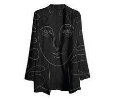 Gabriel Held Chiffon Blazer design by marina-esmeraldo available for $124.00 at paom.com