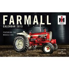 Farmall Wall Calendar: The beauty of the farm and its machinery take center stage in this sumptuous calendar featuring Farmall's finest collectible tractors in beautiful settings.  $15.99  http://calendars.com/Tractors/Farmall-2013-Deluxe-Wall-Calendar/prod201300006167/?categoryId=cat00695=cat00695#
