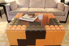 Modern interlocking block furniture. Modular furniture construction. — EverBlock