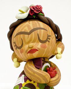 Frida art toy