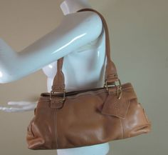 2ad7658136 Brown Bags & Handbags for Women   eBay. Tommy and Kate tan thick quality leather  shoulder bag handbag purse R14784 #style #fashion ...