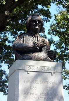 ArchitectureChicago PLUS: A restored Emanuel Swedenborg sucks up the fumes and contemplates what Daniel Burnham Wrought