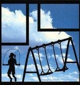 EZLaserDesigns : Playground Swing  scrapbook overlay child kid outdoor playing layout